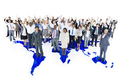 Multi-ethnic group business person Concept.  Stock Image
