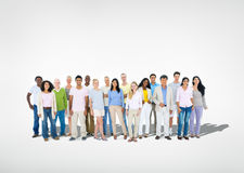 Multi Ethnic Group of People.  Royalty Free Stock Photo