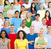 Multi Ethnic Group Of People Royalty Free Stock Image