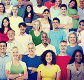 Multi Ethnic Group Of People Royalty Free Stock Photo