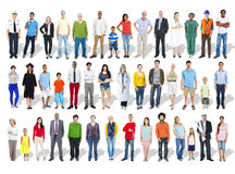Multi-Ethnic Group of People and Diversity in Careers royalty free stock images