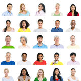 Multi-Ethnic Group Of People Expressing Positivity Royalty Free Stock Photography