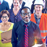 Multi-Ethnic Group of People with Various Occupations Concept.  Royalty Free Stock Photos