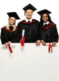 Multi ethnic group of students Royalty Free Stock Photography