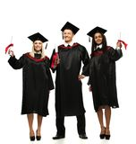 Multi ethnic group of students Royalty Free Stock Image