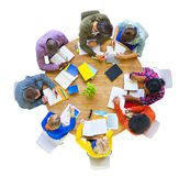 Multi-Ethnic Group Working Together Stock Photography