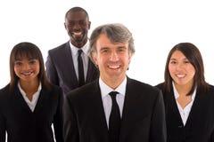 Multi-ethnic lag arkivbild