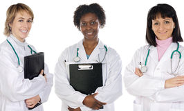 Multi-ethnic medical team Royalty Free Stock Photo
