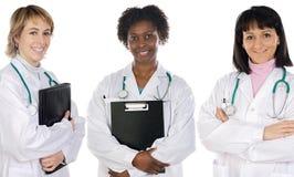 Multi-ethnic medical team Royalty Free Stock Photo