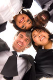 Multi-ethnic team Royalty Free Stock Photography