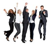 Multi ethnic team of business people Royalty Free Stock Images