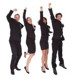 Multi ethnic team of business people Stock Photo