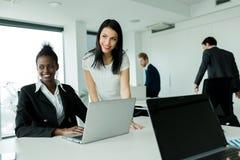 Multi-ethnic work environment Royalty Free Stock Image