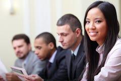 Multi ethnische Geschäftsgruppe Stockfoto