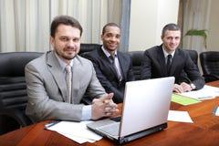Multi etnisch commercieel team royalty-vrije stock foto's