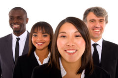 Multi-etnisch team stock foto's