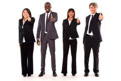 Multi-etnisch team stock fotografie