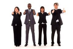 Multi-etnisch team royalty-vrije stock afbeelding