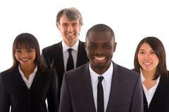 Multi-etnisch team Royalty-vrije Stock Afbeeldingen