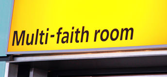 Multi Faith Prayer Room Royalty Free Stock Image