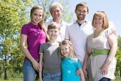 Multi famiglia della generazione immagini stock