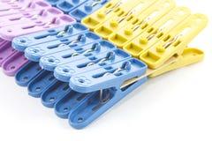 Multi Farbclip Stockbild