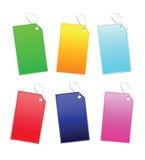 Multi Farben-Kennsatz Lizenzfreie Stockfotografie
