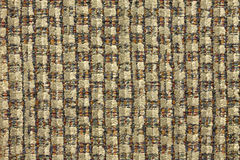 Multi Farben-Tweed-Gewebe Patte Lizenzfreies Stockfoto