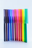 Multi Farbenmarkierungen Lizenzfreie Stockbilder