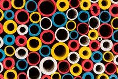 Multi farbige Kreise Stockfoto