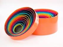 Multi farbige Kreiskästen Stockfoto