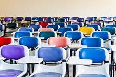 Multi farbige Stühle lizenzfreies stockfoto