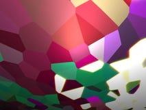 Multi farbiger abstrakter Hintergrund Stockfotografie