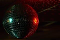 Multi farbiger Spiegelball Stockfoto