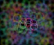 Multi fondo astratto colorato al nero Immagini Stock