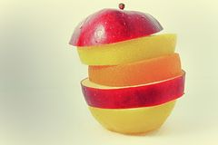 Multi Frucht Stockfoto