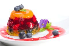 Multi-fruit jelly Stock Images