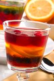 Multi-fruit jelly Stock Image