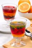 Multi-fruit jelly Stock Photography