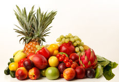 Multi Fruits with Pineapple Royalty Free Stock Images
