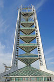 Multi-function Broadcasting Tower (Linglong Tower). LingLong Tower serves as telecast facility for Beijing Olympic Games and is the tallest building in the Stock Photography