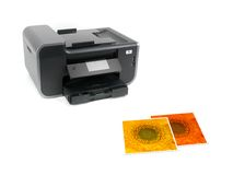 Multi Function Printer Royalty Free Stock Image