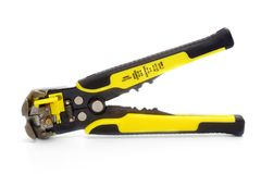 Automatic wire stripper stock images