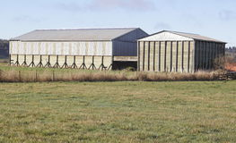Multi-Functional Farm Buildings Royalty Free Stock Photos