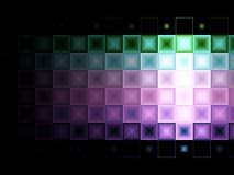 Multi fundo colorido da telha Imagem de Stock