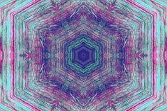 Multi gekleurd caleidoscooppatroon Stock Foto's