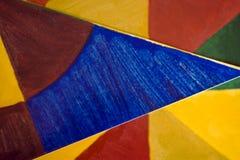 Multi gekleurd document Royalty-vrije Stock Afbeelding