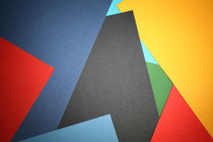 Multi gekleurde abstracte achtergrond Royalty-vrije Stock Afbeelding