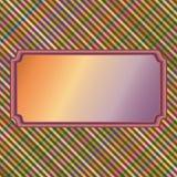 Multi gekleurde achtergrond voor etiket Royalty-vrije Stock Foto