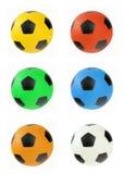 Multi gekleurde ballen Royalty-vrije Stock Foto's